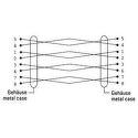 Hama 41895 sieťový patch kábel CAT 5e, 2xRJ45, tienený, 3m