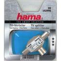Hama 42998 rozbočovač TV, koaxiálna zásuvka - 2 koaxiálne vidlice