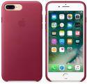 Apple kožený kryt pre iPhone 7 Plus, Berry