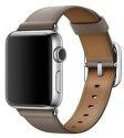 Apple Watch 42mm šedohnedý klasický remienok