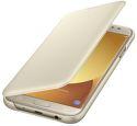 Samsung flipové puzdro pre J7 2017 zlatá