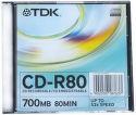 TDK CD-RDV GEB 80 - 52x zelena