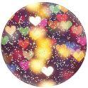 PopSocket držiak na smartfón, Glitter Bokeh Heart