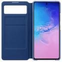 Samsung S View Wallet Cover pre Samsung Galaxy S10 Lite, čierna
