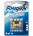 Energizer Ultimate Lithium AAA FR03, 4ks
