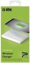 SBS Qi Fast Charge nabíjacia podložka, biela