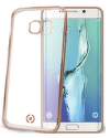 Celly Laser puzdro pre Samsung Galaxy S7 Edge, zlatá