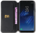 Celly Prestige knižkové puzdro pre Galaxy S8, čierna