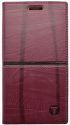 Mobilnet Luxury knižkové puzdro pre iPhone 8, červené