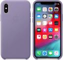 Apple kožený kryt pre iPhone Xs Max, fialový