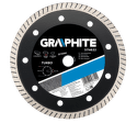 GRAPHITE Diamantový kotúč, 230 22.2 mm, Turbo, super tenký