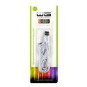 Winner dátový kábel pre iPhone 5/6 2m, biela
