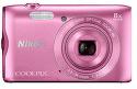 Nikon Coolpix A300 ružový