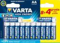 VARTA HE AA 8+4, Batérie