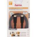 Hama 122117 High Speed HDMI kábel, plochý, ethernet, 1,5m