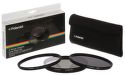 Polaroid 62mm UV MC, CPL, ND9 Filter kit 3ks