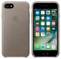 Apple kožený kryt pre iPhone 7, dymový