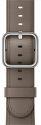 Apple Watch 38mm šedohnedý klasický remienok