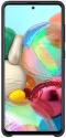 Samsung Silicone Cover pre Samsung Galaxy A71, čierna