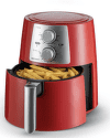 DELIMANO Air fryer PRO RED, Fritéza2
