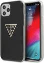 Guess puzdro pre Apple iPhone 12/12 Pro čierne