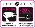 Rowenta CV5372F0 Studio Dry Effiwatts