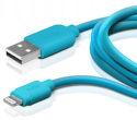 SBS Lightning kábel 1m, modrá
