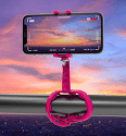 Celly Squiddy ružový, flexibilný držiak