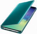 Samsung Clear View puzdro pre Samsung Galaxy S10+, zelená