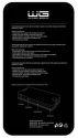 WINNER Ochranné tvrdené sklo pre Sony Xperia Z1