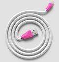 Remax dátový kábel Lightning 1 m ružový