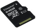 Kingston microSDHC, SDXC 64 GB Class 10 UHS-I_1
