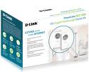 D-Link DHP-P601AV PowerLine AV2 1000 HD Gigabit Passthrough Starter Kit