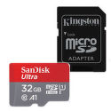 SanDisk Ultra microSDHC 32GB 98 MB/s A1 Class 10 UHS-I