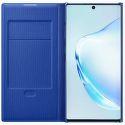 Samsung LED View knižkové puzdro pre Samsung Galaxy Note10+, modrá