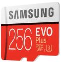 Samsung Micro SDXC 256 GB EVO Plus + SD adaptér