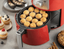 DELIMANO Air fryer PRO RED, Fritéza3