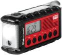 Midland ER 300 červeno-čierne solárne rádio