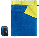 Naturehike spací vak pre 2 osoby 2400g modrá/zelená