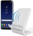 SBS Qi Fast Charge bezdrôtový nabíjací stojan, biely