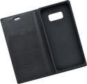 Mobilnet Luxury knižkové puzdro pre Samsung Galaxy S8, čierna