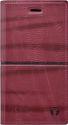 Mobilnet Luxury knižkové puzdro pre Samsung Galaxy J5 2017, červená
