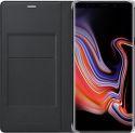 Samsung Leather knižkové puzdro pre Samsung Galaxy Note9, čierna