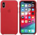 Apple silikónový kryt pre iPhone XS, (PRODUCT)RED