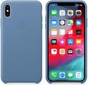 Apple kožený kryt pre iPhone Xs Max, modrý