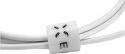 Fixed USB/Micro USB kábel 1 m, biela