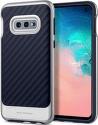 Spigen Neo Hybrid puzdro pre Samsung Galaxy S10e, strieborná