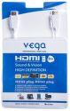 VEGA AA-1069 HDMI kábel 8m biely