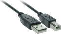 SOLID SSC0203 USB kábel, USB 2.0 A konektor - USB 2.0 B 3m