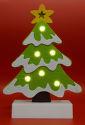 SOMOGYI CDM 64 LED filcová figúrka na stôl, stromček